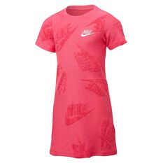 Nike Sportswear Girls Futura Novelty Dress Pink 4, Pink, rebel_hi-res