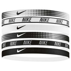 Nike 6 Pack Printed Headbands Multi OSFA, Multi, rebel_hi-res