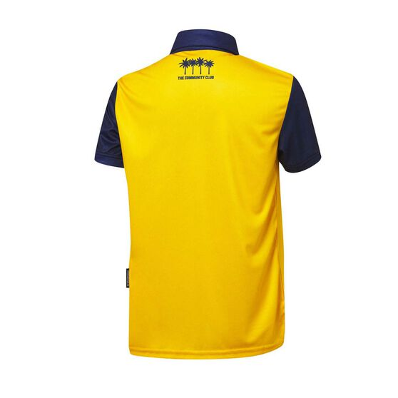 Central Coast Mariners FC 2020/21 Junior Home Jersey, Yellow, rebel_hi-res