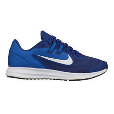 e6a5ce453f72e Nike Downshifter 9 Kids Running Shoes Blue   White US 4