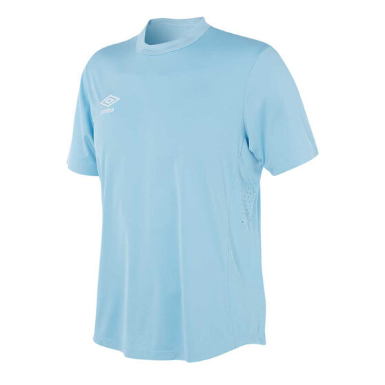 Umbro Mens League Knit Jersey, Sky Blue, rebel_hi-res