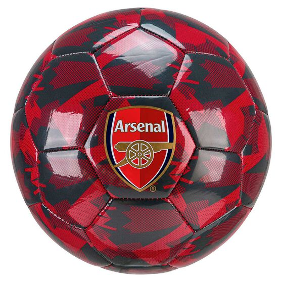 Puma Arsenal Camo Soccer Ball Red 5, , rebel_hi-res