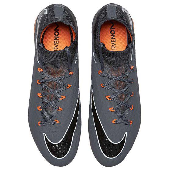 Nike Hypervenom Phantom III Pro Dynamic Fit Mens Football Boots, Grey / Orange, rebel_hi-res