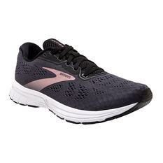 Brooks Anthem 4 Womens Running Shoes, Black/Silver, rebel_hi-res