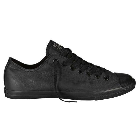 7b42e8060175 Converse Chuck Taylor Lean Leather Low Casual Shoes Black   Black US ...