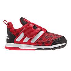 adidas Spiderman Toddlers Shoes Red / Black US 4, Red / Black, rebel_hi-res