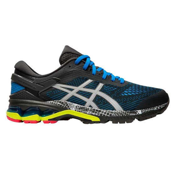 Asics GEL Kayano 26 Liteshow 2.0 Mens Running Shoes, Grey, rebel_hi-res