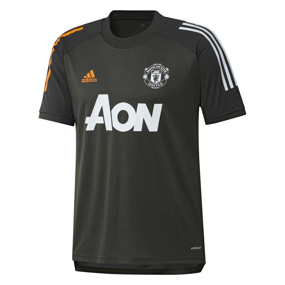 Manchester United 2020/21 Mens Training Jersey   Rebel Sport