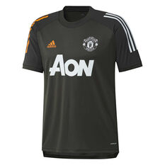 Manchester United 2020/21 Mens Training Jersey Grey X, Grey, rebel_hi-res