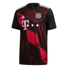 FC Bayern Munich 2020/21 Mens 3rd Jersey Red/Black S, Red/Black, rebel_hi-res