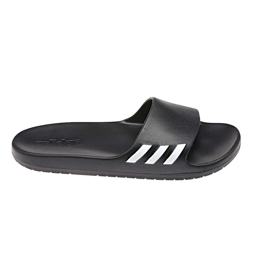 online store eed5e 2a2f6 adidas Aqualette Womens Slides Black  White US 9, Black  White, rebelhi-