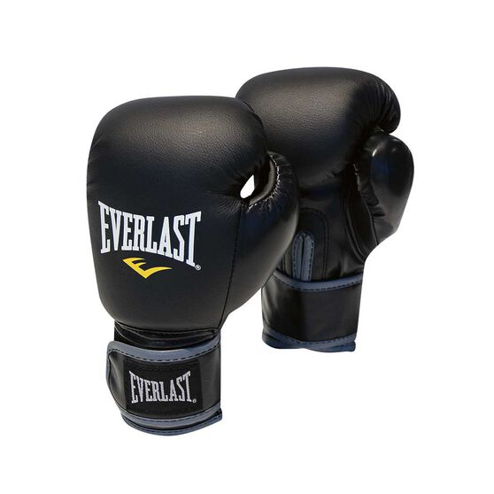 Everlast Junior Training Boxing Gloves Black 6oz, , rebel_hi-res