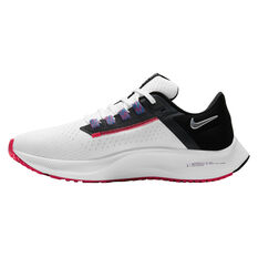 Nike Air Zoom Pegasus 38 Womens Running Shoes White/Black US 6, White/Black, rebel_hi-res