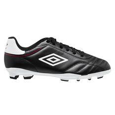 Umbro Classico VIII Football Boots Black/White US Mens 7 / Womens 8.5, Black/White, rebel_hi-res