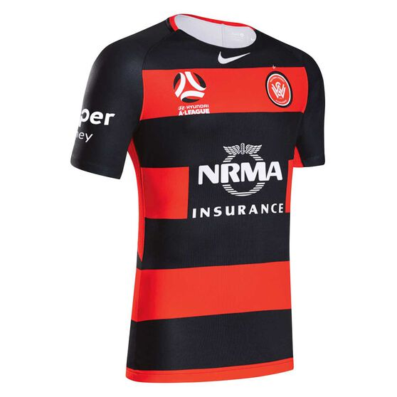 West Sydney Wanderers FC 2018 Kids Home Jersey, , rebel_hi-res