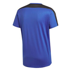 adidas Mens Own The Run Tee Blue S, Blue, rebel_hi-res