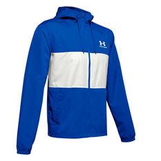 Under Armour Mens Sportstyle Wind Jacket, Blue, rebel_hi-res
