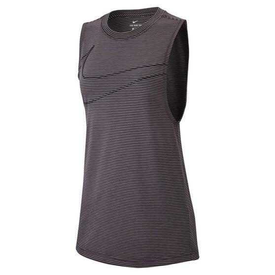 Nike Womens Dry Stripe Swoosh Training Tank, , rebel_hi-res