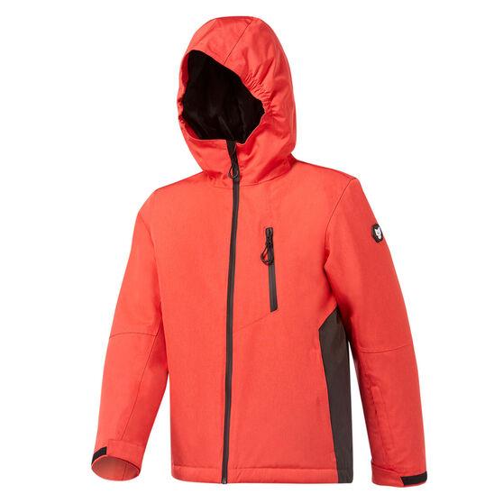 Tahwalhi Boys Boomer Ski Jacket, Red, rebel_hi-res