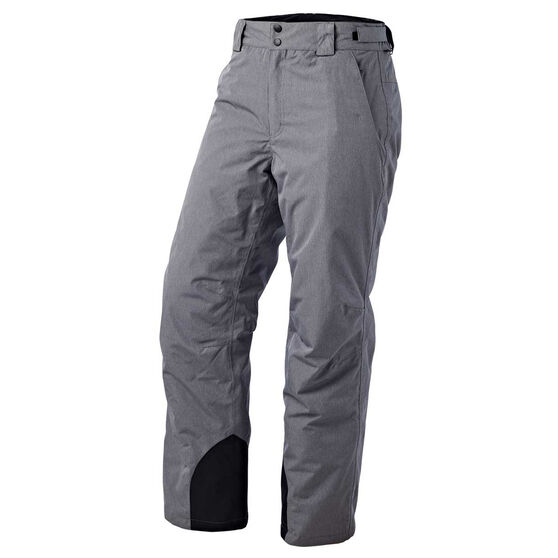 Tahwalhi Mens Kick Ski Pants Grey XXL, Grey, rebel_hi-res
