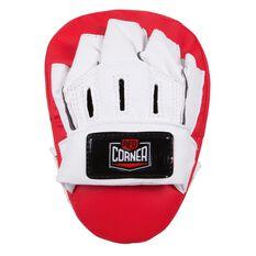 Red Corner Junior Boxing Glove and Focus Pad Kit Red 6oz, , rebel_hi-res