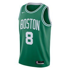 Nike Boston Celtics Kemba Walker 2020/21 Mens Icon Edition Authentic Jersey Green S, Green, rebel_hi-res