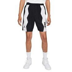 Jordan Dri-FIT Zion Mens Performance Woven Shorts Black S, Black, rebel_hi-res