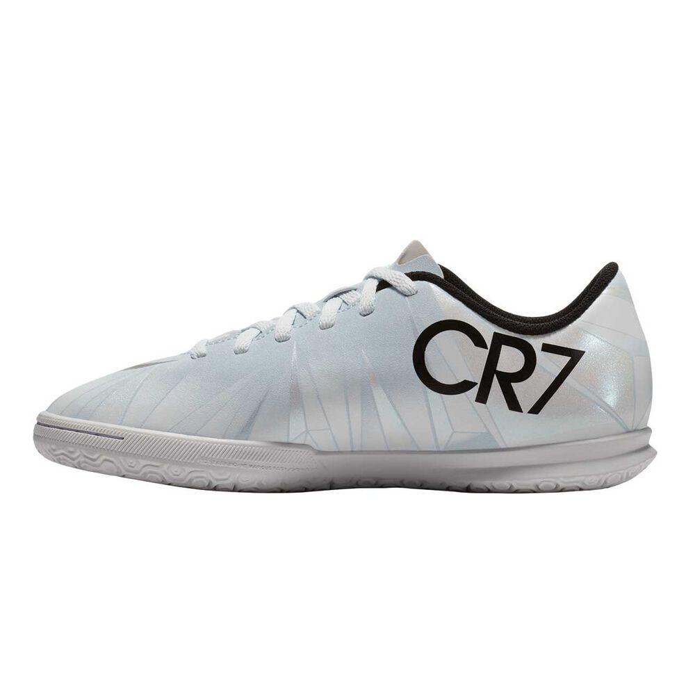 70353dc32f4 Nike MercurialX Vortex III CR7 Junior Indoor Soccer Shoes Black   White US  5