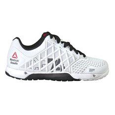 Reebok Womens CrossFit Nano 4.0 CrossFit Shoes White / Black US 6, White / Black, rebel_hi-res