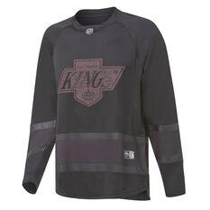 Majestic Mens Los Angeles Kings Triple Black Jersey, Black, rebel_hi-res