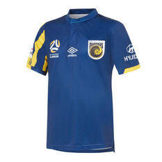 Central Coast Mariners 2019/20 Kids Alternate Jersey Navy 8, Navy, rebel_hi-res