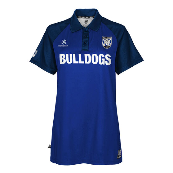 Canterbury Canterbury-Bankstown Bulldogs 2021 Womens Polo, Navy, rebel_hi-res