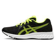 Asics Jolt 2 Kids Running Shoes Black / Yellow US 4, Black / Yellow, rebel_hi-res