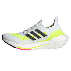 adidas Ultraboost 21 Kids Running Shoes White/Black US 4, White/Black, rebel_hi-res