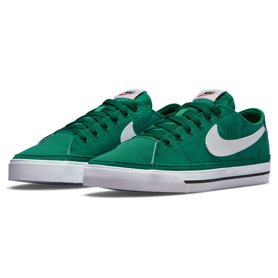 Nike Court Legacy Canvas Mens Casual Shoes, Green/White, rebel_hi-res