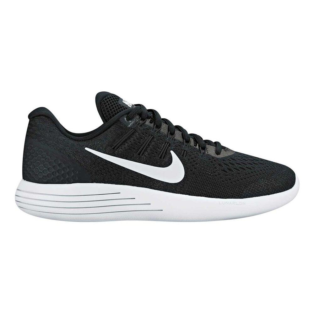 new arrival 682af af674 Nike Lunarglide 8 Womens Running Shoes Black White US 6.5, Black White, ...