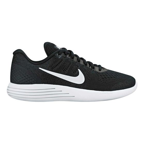 on sale 6616b 0d918 Nike Lunarglide 8 Womens Running Shoes Black   White US 6, Black   White,