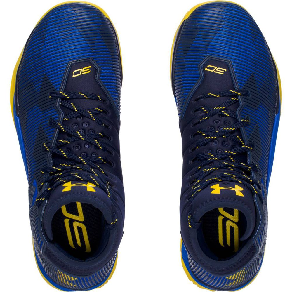 17af9f26ef6f Under Armour Curry 2.5 Mens Basketball shoe Blue   Yellow US 9.5 ...