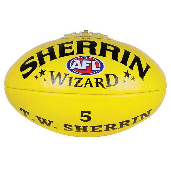 Sherrin Wizard Australian Rules Football, , rebel_hi-res