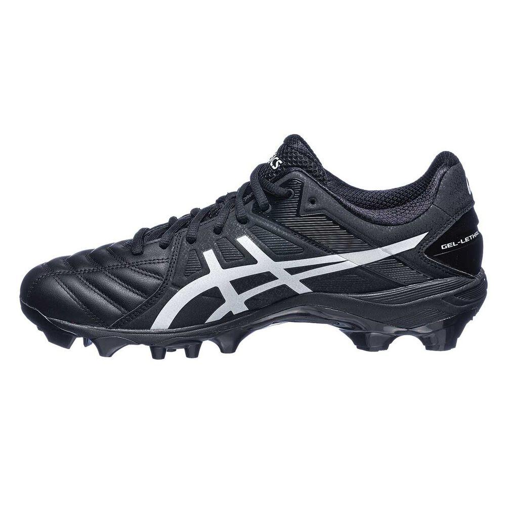 af2c7bfa06d Asics GEL Lethal Ultimate IGS 12 Mens Football Boots Black   White US 7  Adult