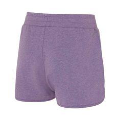 Ell & Voo Womens Kelsey Knit Shorts Purple XS, Purple, rebel_hi-res