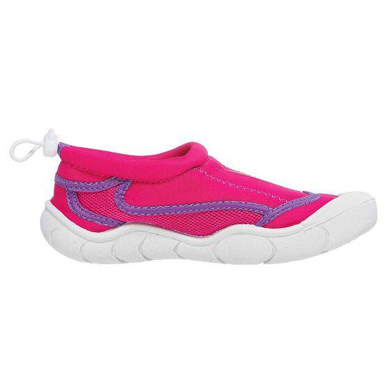 Seven Mile Junior Aqua Reef Shoes Pink US 2, Pink, rebel_hi-res