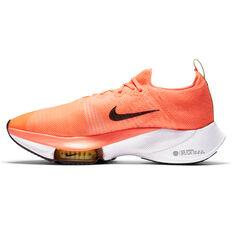 Nike Air Zoom Tempo Next% Mens Running Shoes Orange/Black US 7, Orange/Black, rebel_hi-res