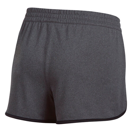 Under Armour Womens Tech Shorts, Black, rebel_hi-res