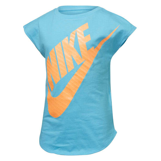 5b0bef55 Nike Girls Jumbo Futura Tee, , rebel_hi-res