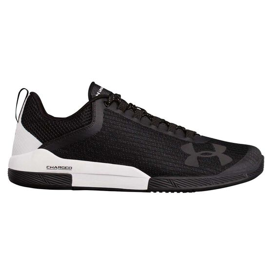 Under Armour Charged Legend Mens Training Shoes Black / White US 8, Black / White, rebel_hi-res
