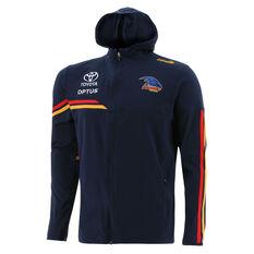 Adelaide Crows 2021 Mens Team Hoodie Blue S, Blue, rebel_hi-res
