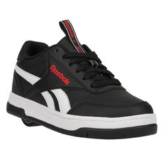 Reebok Court Low Heelys Black/White US 13, Black/White, rebel_hi-res
