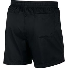 Nike Mens Sportswear Woven Flow Shorts Black S, Black, rebel_hi-res
