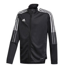adidas Boys Tiro 21 Track Jacket, Black, rebel_hi-res